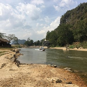 can take a boat to & from Chiang Rai, ask a tour operator