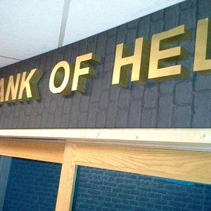 Entree de Bank of HEL