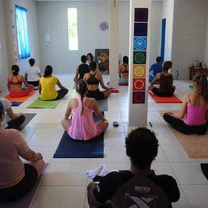 Foto da yoga shala