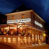 L'hôtel de France à Villers le lac