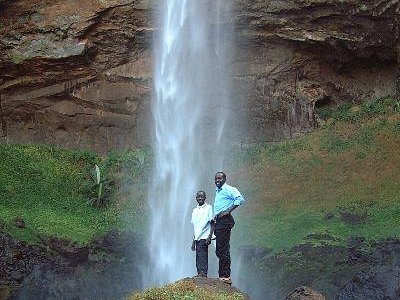 Serene-Sipi falls on the side of  the extinct  volcano; Mt El, good for  relaxing, honey moon