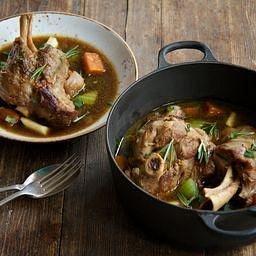 Hearty lamb stew