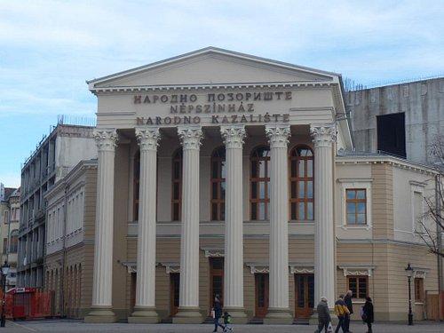 отреставрированный фасад