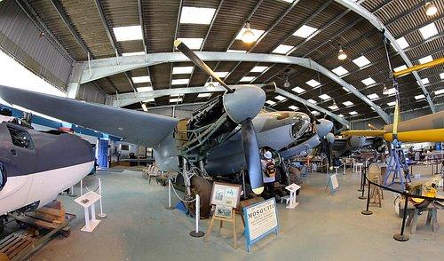 A fine example of a De Havilland Mosquito