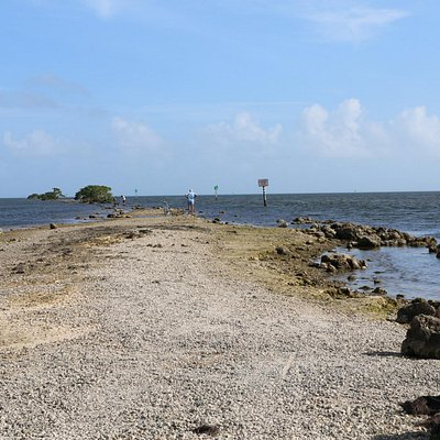 End of Jetty Trail in Biscayne Bay