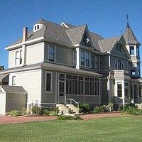The 1894 built Victorian farmhouse at the Faulkner farm is a historical landmark.