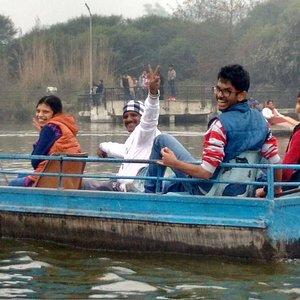 Boating at Tilyar