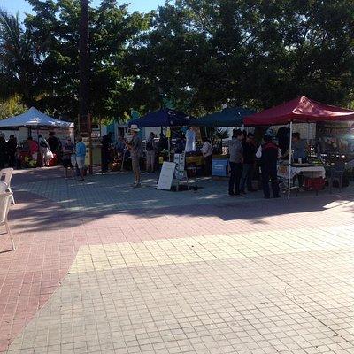Market stalls !