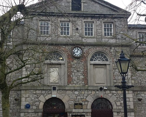 Athy Heritage Centre, viewed from the town square