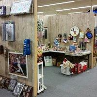 Modern Flea Market, less than 10% antiques.