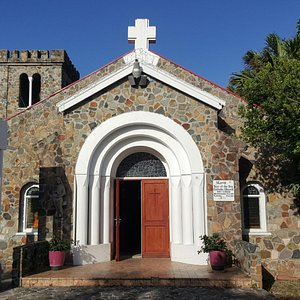 Parte frontal de la Iglesia
