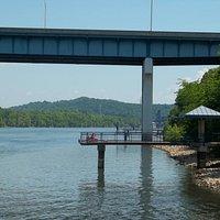 Fishing Pier at Robinson Bridge Park
