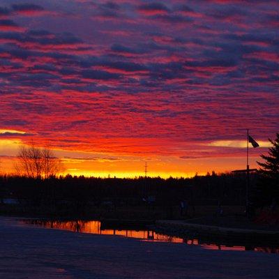 Gillies Lake sunrise