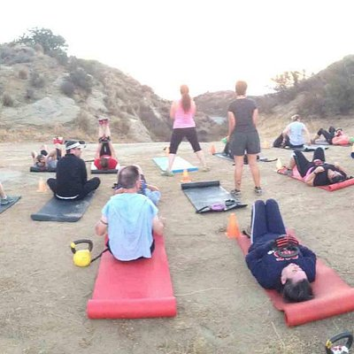 Camp began at Rocky Peak trail!  It was awesome.