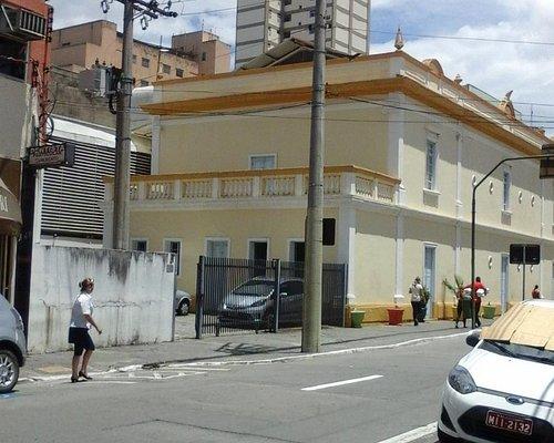 vista do prédio Cassiano ricardo