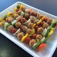 Our Vegan Kebabs