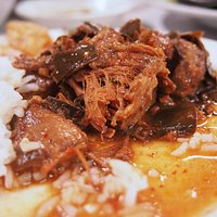 The delicious pork in the Chanthaburi soup