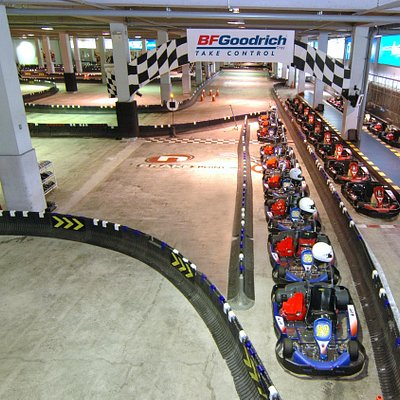 Biggest indoor track in Asia
