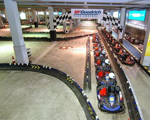 Biggest indoor track in Asia
