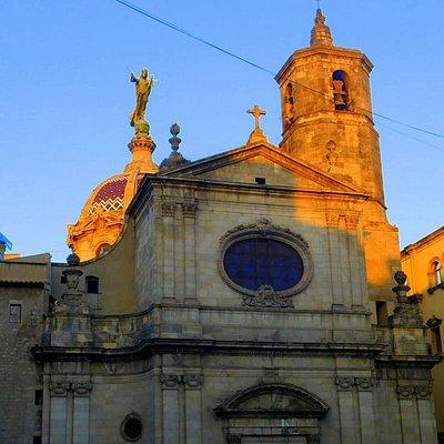 Basilica de la Mare de Deu de la Merce exterior.
