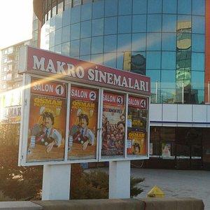 Makro sinema program panosu