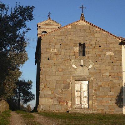 Chiesa di San Jacopo a Pulignano - facciata