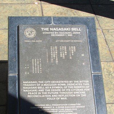 homenagem aos mortos em Nagasaki