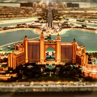 An artis'ts impression of the Atlantis and the Palm