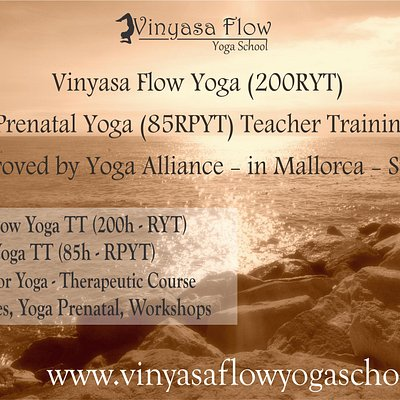 Vinyasa Flow Yoga School in Majorca