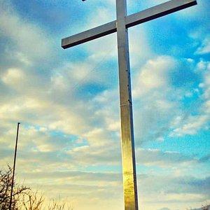 Cyrilometodský kríž v Bardejove. 20. február 2016