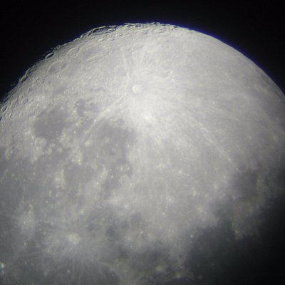 see the moon close up