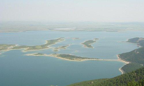Вид на озеро Чебачье