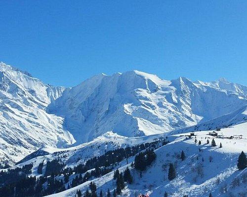 Panorama del Monte Bianco