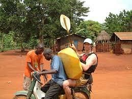 its just in Uganda
