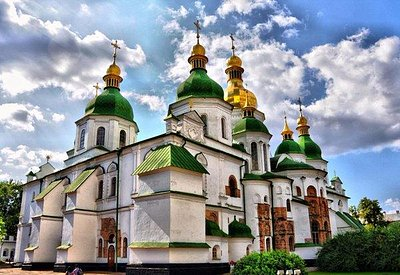 Saint Sophia Cathedral - the most important historical architectural monument 11 century