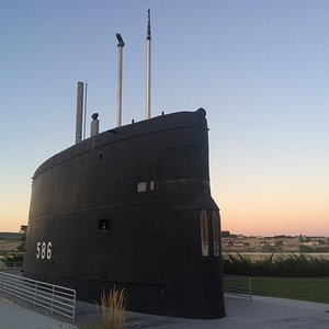USS Triton Conning Tower in the Desert