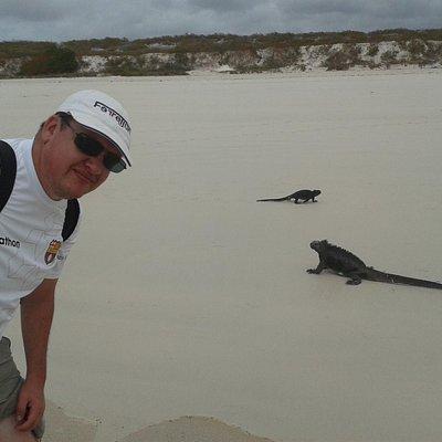 Tortuga Bay at Galapagos Islands. 4,5 or mores days tour.