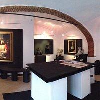 interno galleria d'arte Creatini e Landriani