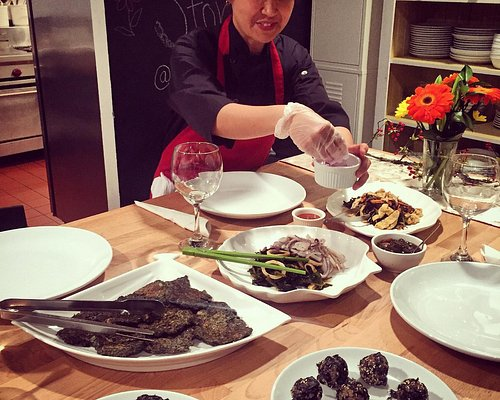 Chef Shin in action!