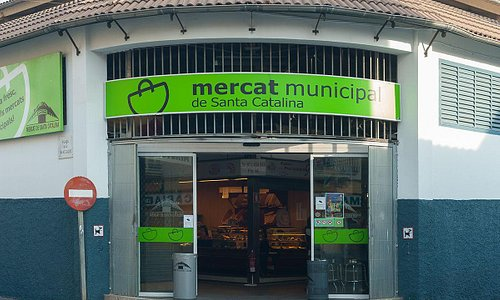Mercado de Santa Catalina-entrada