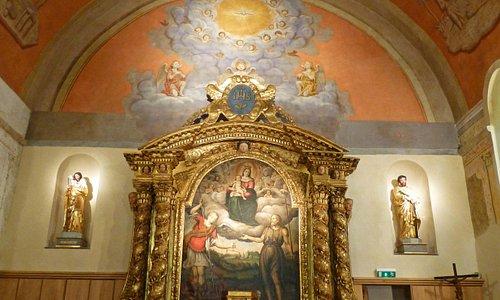Intérieur de l'Eglise Notre Dame