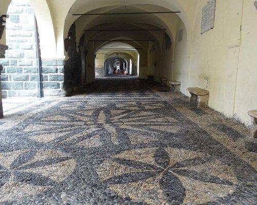 """View of """"Loggia della Repubblica"""" from south side towards north"""