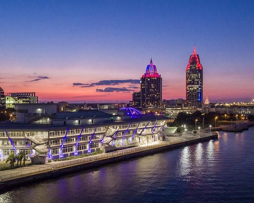 GulfQuest and the Mobile skyline