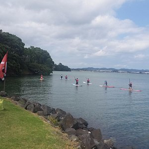SUP at Point Chev, Auckland