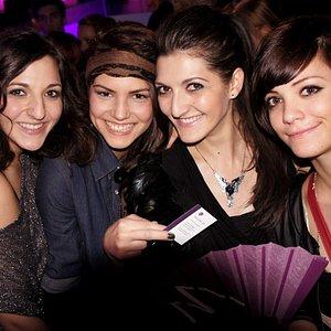 Ladies from Netherlands enjoying the VIP Nightclub Tour