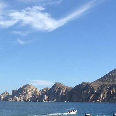 As seen from the road to Cabo by bus.