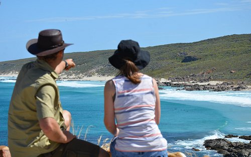 Viewing the sights of Cape Naturaliste