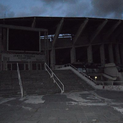 National Arena by night