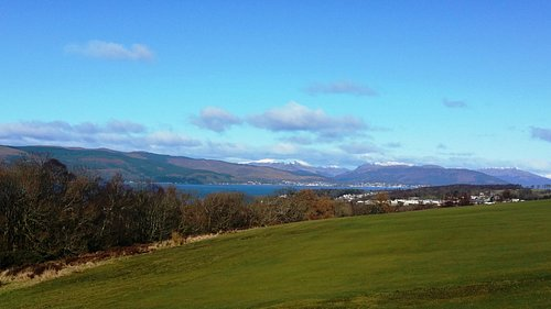 View golfing at Skelmorlie
