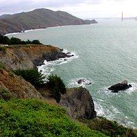 View with Golden Gate Bridge